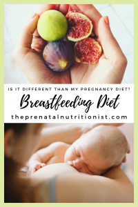 Nutrition While Breastfeeding