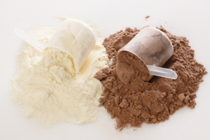 two scoops of protein powder | protein powder for pregnancy