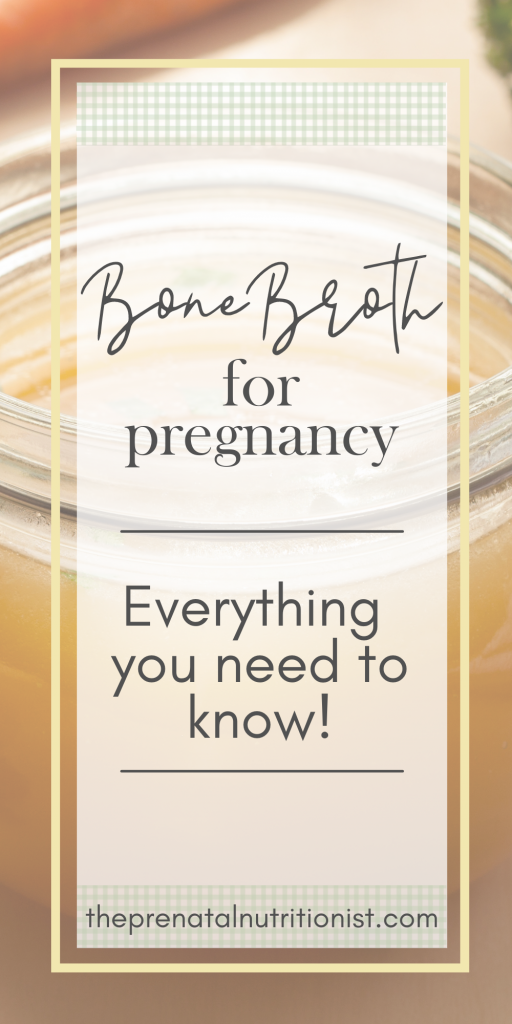 Benefits of Drinking Bone Broth While Pregnant