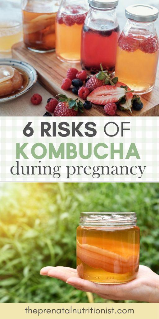 Risks of Kombucha during pregnancy