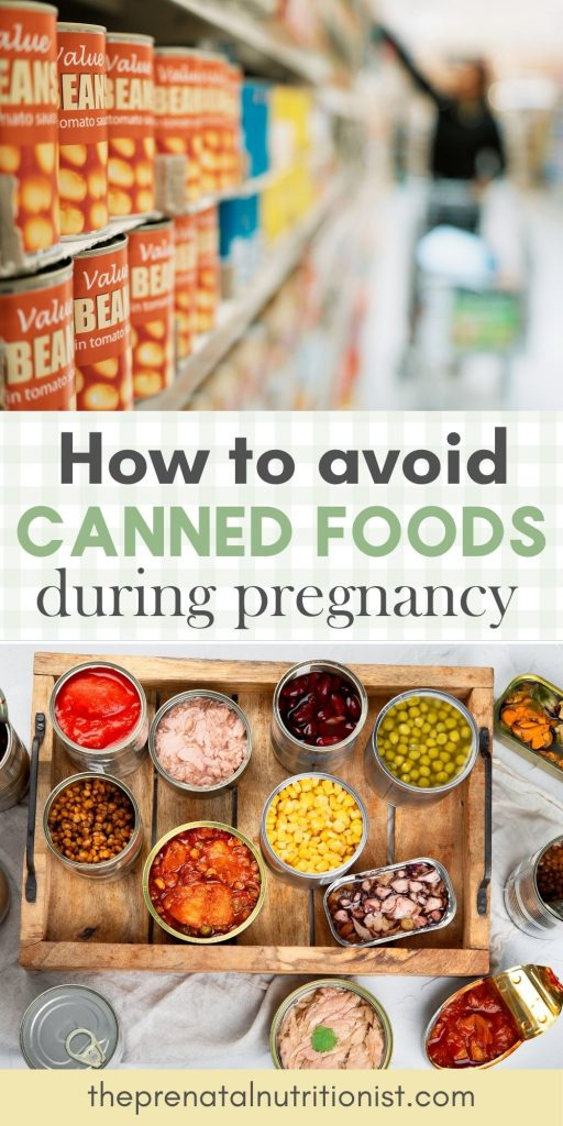 How to avoid canned foods