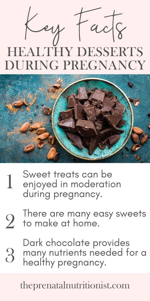 Healthy desserts during pregnancy